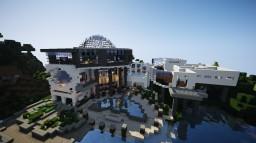 Modern mansion Minecraft