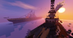 Map - Warships battles Minecraft Map & Project