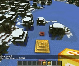Winter Hunger Games Minecraft Map & Project