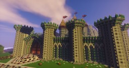 Medieval island Minecraft Map & Project