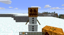What a Snow Golem wants for Christmas: Minecraft