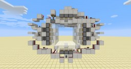 supercharged 5x5 vault door Minecraft Map & Project