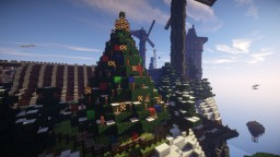 Blinking Christmas Tree Minecraft Map & Project