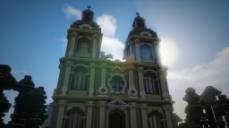 Baroque Church #2 Minecraft Map & Project