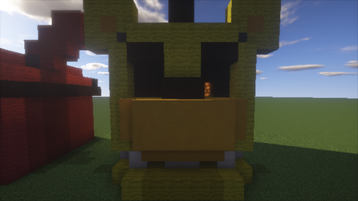 Five nights at freddy s heads fnaf1 minecraft project