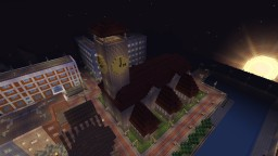 Library in an old church - VeroDale Minecraft Map & Project