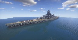 Battleship [DKM/KMS] Scharnhorst 1:1 Minecraft Map & Project