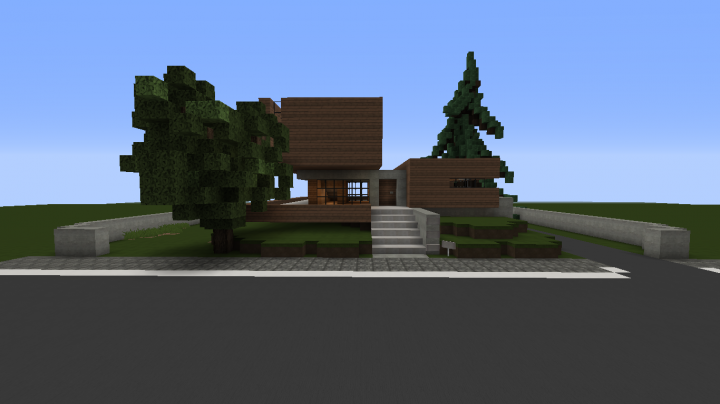Modern House By Real Architect Minecraft Project