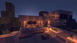 Modern Contemporary Home! Minecraft Map & Project