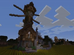Medeival Windmill 1.10.2 Minecraft Map & Project