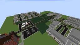 Suburban/Modern Town Minecraft Map & Project