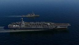 USS CVN Enterprise Minecraft