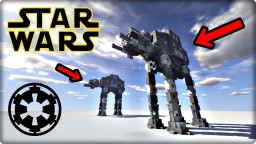 STAR WARS AT-AT walker Minecraft Map & Project