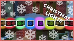 Minecraft - How To Make Christmas Lights Minecraft Project