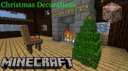 Minecraft 1.11: Christmas Decorations Only Two Commands | NO MODS Minecraft Map & Project
