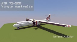 ATR72-500 Virgin Australia [+Download] Minecraft Map & Project