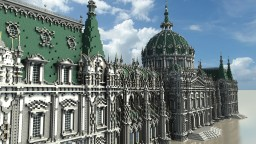 Fantasy/Baroque Palace Minecraft Project