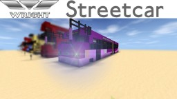 Wright Streetcar | Articulated City Bus Minecraft Map & Project