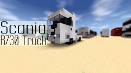 Scania R730 | Truck Minecraft Map & Project