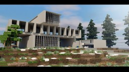 Rustic Modern House Minecraft Project