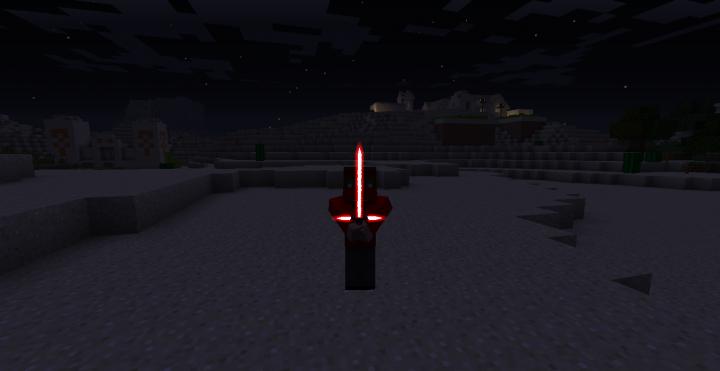 Kylo Rens lightsaber