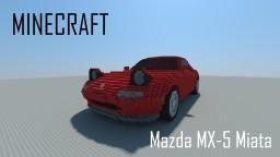 Mazda MX-5 Miata Minecraft Map & Project