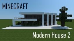Modern House 2 (full interior) Minecraft Project