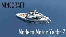 Modern Motor Yacht 2 (full interior) Minecraft