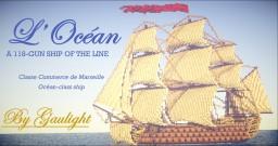 L'Océan | A 118 gun ship of the line