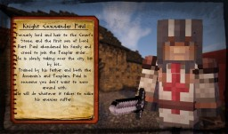 Knight Commander Paul - Medieval Ghent Adventure Map - Character Sheets. Minecraft Blog Post