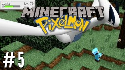 Pixelmon 05 | Legendary Lugia, Snorlax and Fossils