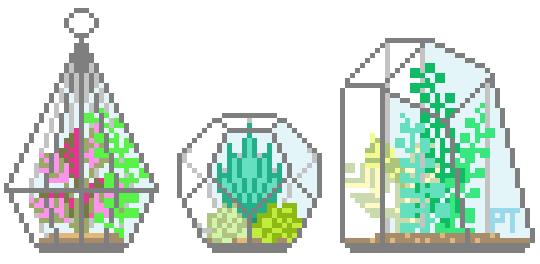 Afbeeldingsresultaat voor terrarium tumblr pixel