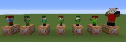 Santa and His Elves Visit Your Server Minecraft Map & Project