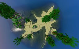 Tropical Island Minecraft Map & Project