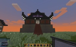 japanes village and castle edo period style 1.11 version 3D resource pack Minecraft Project