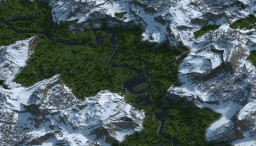 Serene Valley ~ Custom Terrain Minecraft