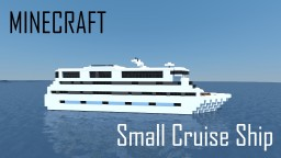 Small Cruise Ship (full interior) Minecraft Map & Project