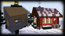 Minecraft - How To Remodel A Village House | Villager Library | Christmas Special Minecraft Map & Project
