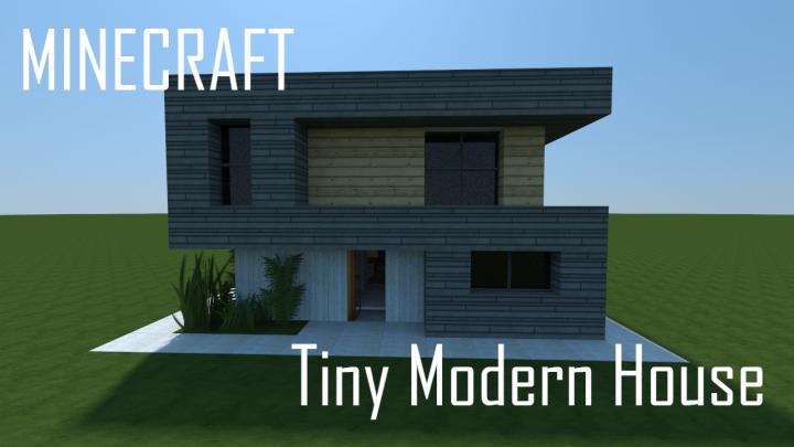 Tiny Modern House Minecraft tiny modern house (full interior) minecraft project