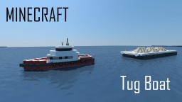 Tug Boat (full interior) Minecraft Map & Project