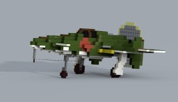 Kyūshū J7W1 Shinden (4:1) Minecraft Project