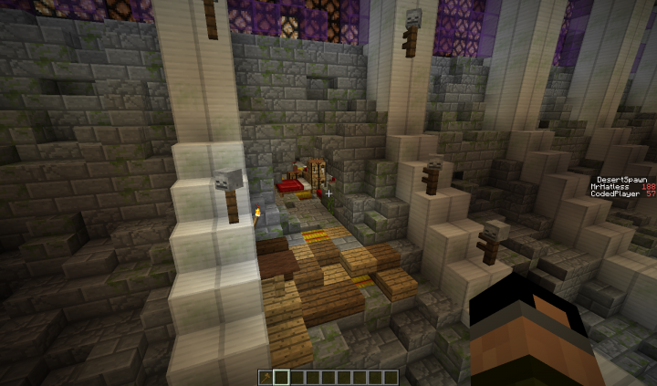 Hideout In A Train Tunnel Minecraft Project