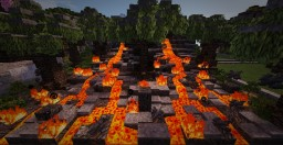 Pahoehoe - a lava flow immolation plot Minecraft Map & Project