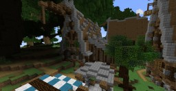 Medieval stable + forge Minecraft Map & Project