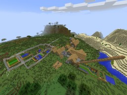 House In Village Minecraft Map & Project
