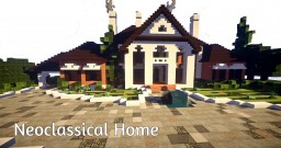 Neoclassical Home Minecraft Map & Project