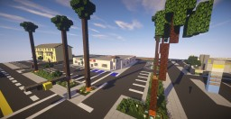Palmsprings Shopping Center  - Oakland Minecraft Map & Project