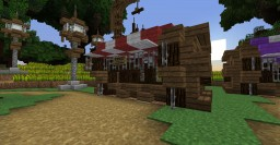 Market stall Minecraft Map & Project