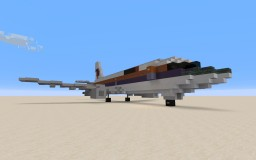 Boeing 737-200 United Airlines Minecraft Map & Project