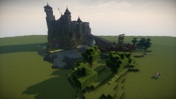 Burg Kraehenfels (Flache Version / Flat Version) Minecraft Map & Project